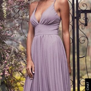 Gray maxi dress from Lulus!!